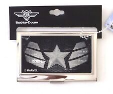Marvel Buckle Down  - Captain America - Metal Wallet Business Card Holder NWT