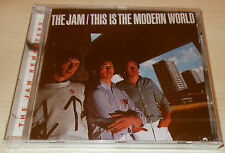 THE JAM-THIS IS THE MODERN WORLD-REMASTERED UK CD 1997-PAUL WELLER-NEW & SEALED