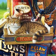 Jigsaw puzzle Animal Cat named Fothergill 1000 piece NEW