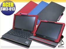 ACER Aspire Switch 10 E SW3-013 rotating & detachable keyboard leather case_RED