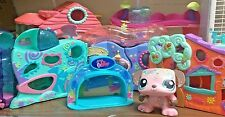 Littlest Pet Shop ✿Houses✿ STORAGE CASE & ACCESSORY LOT ✿Tackle Box Accessories