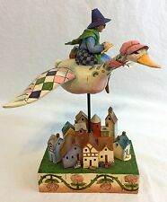 Jim Shore Rhyme Time Mother Goose Figurine