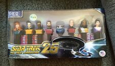New PEZ STAR TREK The Next Generation 25 Collector's Series Limited Edition Set