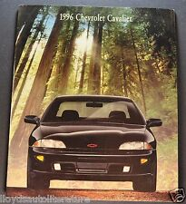 1996 Chevrolet Cavalier Catalog Sales Brochure LS Z24 Excellent Original 96
