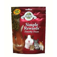 Oxbow SIMPLE REWARDS Treats - Rabbit Guinea Pig Chinchilla TIMOTHY 1.4 oz