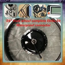 "Electric Bike 48V 1000 W 26"" Front Wheel Kit ,Ebike Conversion Kit. Ebike Kits"
