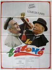 LE TATOUE Affiche Cinéma / Movie Poster Jean Gabin Louis de Funès 160x120