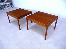 2x MAGNUS OLESEN Teak SIDE TABLE Couchtisch MID-CENTURY Coffee Table | 60er 60s