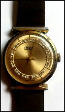Men's Lord Nelson Mechanical Wind Swiss Watch w/ Crystal Accented Dial