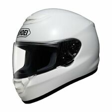 Shoei Qwest Gloss Solid White Motorcycle Riding Helmet M Medium