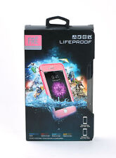 "LifeProof FRE Water Dust Proof Case 5.5"" iPhone 6 Plus iPhone 6s Plus Pink/Lime"