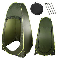 NEW DELUXE Portable INSTANT Pop Up Tenda Campeggio Doccia WC cambiando la privacy
