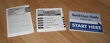 Olympus Manual, Safety Precautions, & Quick Start Guide For D-390 & C-150 Camera