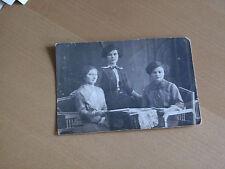 Foto 14K664 3 hübsche Damen am Tisch 1914  ca. 9x12cm