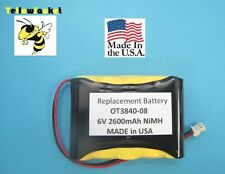 2600mAh OTC Battery OT3840-08 2-Channel Scope 3840 3840F Matco MD4000F MD 4000F