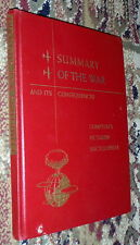 Summary of the War and Consequences,WWII,G,HB,1946,First  Q