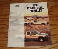 Original 1999 Chevrolet Commercial Vehicles Sales Brochure 99 Chevy Pickup Van