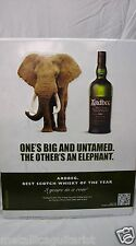 "ARDBEG - ISLAY SINGLE MALT SCOTCH WHISKEY - 26"" x 20"" METAL TACKER SIGN *NEW*"
