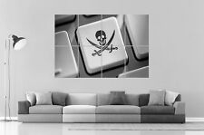 HACKER PIRATE INFORMATIQUE Wall Art Poster Grand format A0 Large Print