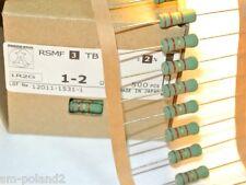 1.2R 3W 2% RSMF3TB-1R2 Akane:OHM 15x6mm  Metal Oxide Film Resistors [QTY=25pcs]