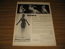 1947 Print Ad Playtex Living Girdles Pretty Ladies in Underwear