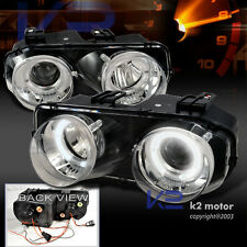 1994-1997 Acura Integra Halo Projector Headlights Chrome