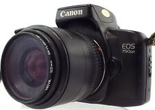 CANON EOS 750QD SLR Camera With Canon Zoom EF 35-70mm f/3.5-4.5 A Lens - E03