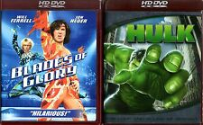 HULK + BLADES OF GLORY HD DVD Will Ferrell Jon Heder Eric Bana Jennifer Connelly