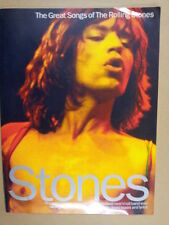 song book STONES greatest hits of the Rolling Stones