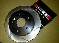 Stoptech Sport Slotted Front Brake Discs + Ferodo DS2500 Pads - Civic Type-R FN2