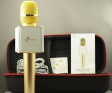 AUTENTIC MICGEEK Q9 US STOCK WIRELESS MICROPHONE & HIFI SPEAKER iOS/ANDRIOD GOLD