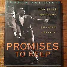 Promises To Keep How Jackie Robinson Changed America Autographed By Daughter
