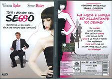 TUTTI I NUMERI DEL SESSO - DVD (USATO EX RENTAL) - WINONA RYDER