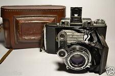 MOSKVA 4 Vintage Soviet/Russian Folding Camera, Industar-23 (4.5/110)
