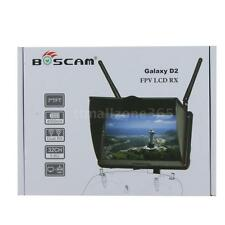 """Boscam Galaxy D2 7""""TFT FPV Screen 5.8G LCD Monitor Dual Receiver US Deliver N9D2"""