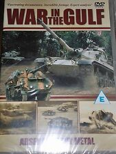 War In The Gulf Arsenal Heavy Metal DVD Footage Analyis Documentary New UK R2