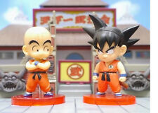 DRAGON BALL 2 Figures set world collectible KURILIN KULILIN + GOKU j stars WCF