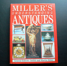 Millers Understanding Antiques 1989 book antique furniture pottery clock doll