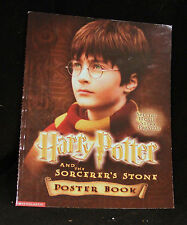 WIZARD HARRY POTTER & THE SORCERER'S STONE 15 MOVIE IMAGES POSTER BOOK