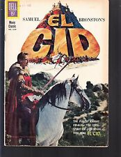 EL CID  #1259  DELL/ 4-COLOR  1961 VG+  MOVIE/TV -PHOTOc..SAMUEL BRONSTON