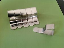 6 British Steel Drawing Board/Table Cloth/Desk/Easel Clips Free Royal Mail Post