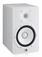 "Yamaha HS8 W Powered Studio 8"" Monitor Amplified Speaker - WHITE - OPEN BOX"