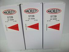 MATCHED TRIO OF MACHLETT  572-B TUBES