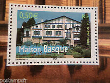 FRANCE 2003 timbre 3603 REGIONS, LA MAISON BASQUE, neuf**, VF MNH STAMP