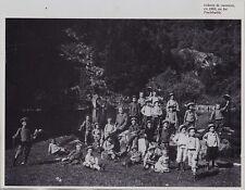1991  --  COLONIE DE VACANCES EN 1905 AU LAC DE FISCHBOELTLE   3I319