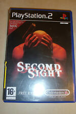 SONY PLAYSTATION 2 PS2 juego Second SIGHT PAL
