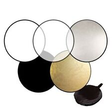 "5-in-1 32""80cm Light Mulit Collapsible disc Photo Photography Round Reflector"
