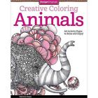 Creative Coloring ANIMALS Book - Adult Art Activity Pages to Relax and Enjoy!