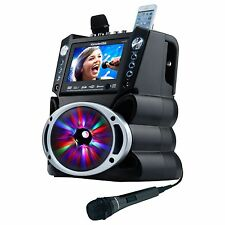 "Karaoke Usa Gf842 Dvd/cd+g/mp3+g Bluetooth[r] Karaoke System With 7"" Tft Color"
