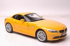 BMW Z4 sDrive35i (E89) car model in scale 1:18 yellow